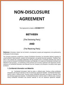 Non Disclosure Agreement Letter Of Intent 8 Confidentiality Non Disclosure Agreement Sle Purchase Agreement