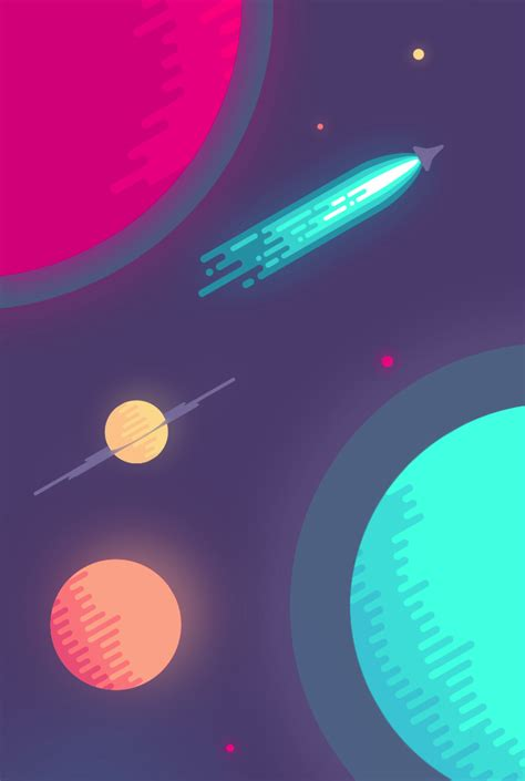 design my space illustration cool dope design creative portrait artwork color graphic digital astronomy