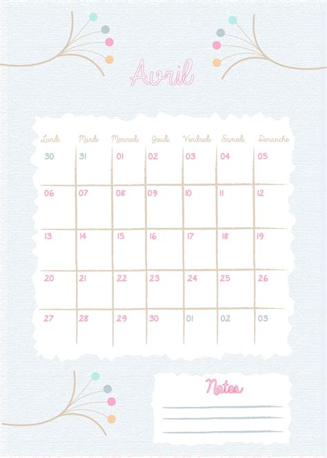 Calendrier 6 Avril Calendrier 224 T 233 L 233 Charger 3 Avril