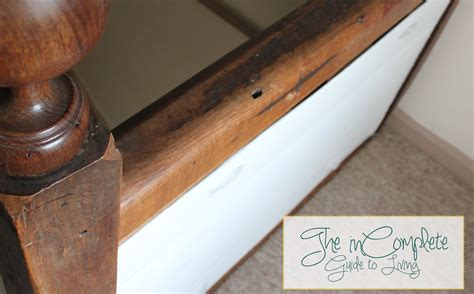 Banister Shield by Incomplete Guide To Living Diy Babyproofing Bannister