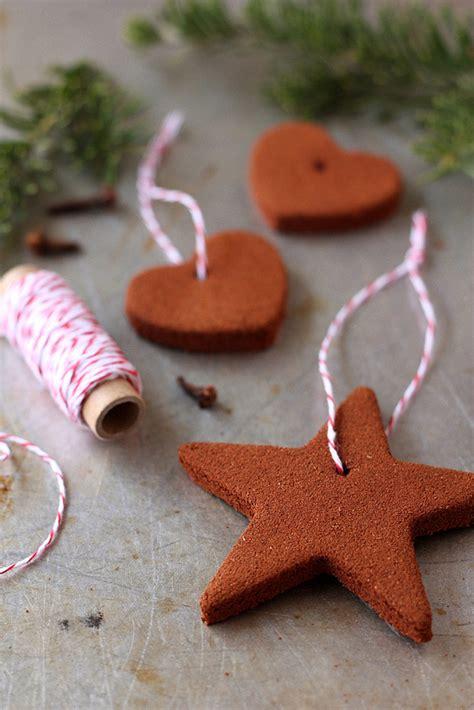 cinnamon applesauce ornaments homemade christmas gifts