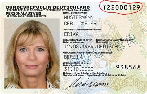 german id card template us visa waiver program what national identification
