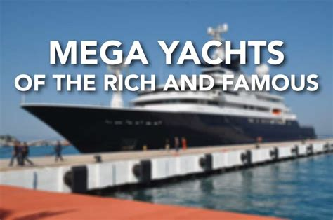 paul allen boat slideshow mega yachts of the rich and famous sfgate