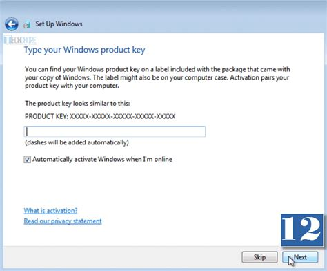 install windows 10 product key how to install windows 7 beginner s guide techchore