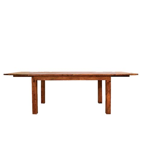 sheesham wood extended dining table by mudra