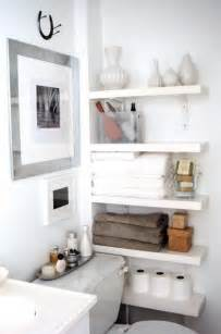 Small Bathroom Shelves Ideas by 53 Bathroom Organizing And Storage Ideas Photos For