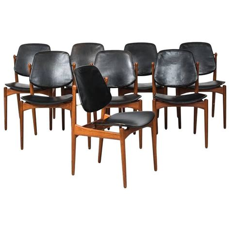 Arne Vodder Dining Chairs Arne Vodder Dining Chairs Model 203 By And In Denmark For Sale At 1stdibs