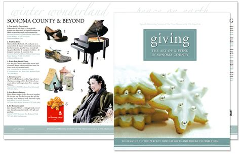 2006 Gift Guide Modish Gift Guide Up by Editorial Design On Behance