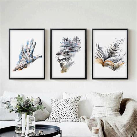lukisan dinding abstrak hitam putih rudi gambar