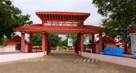 Mba Arts Or Science by Nehru Arts And Science College Coimbatore Courses Fees