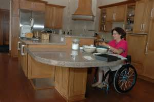 Bathroom Counter Height Wheelchair Living An Active With Inactive After Spinal