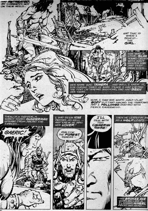 The annotated Savage sword of Conan   The Classic Comics Forum
