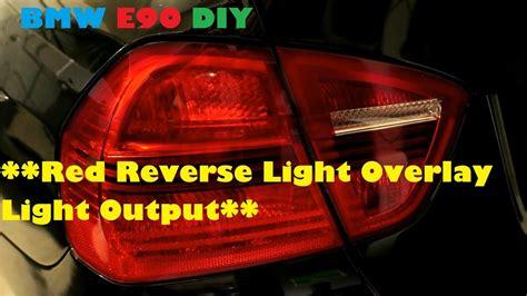 rear tail light tint e90 red tail light vinyl tint overlay light output