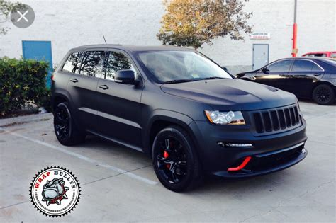 matte jeep grand matte vinyl wrap on grand one of each
