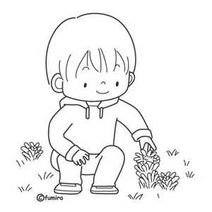 imagenes para colorear jardin ni 241 o con flores dibujalia dibujos para colorear