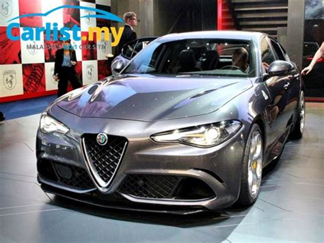 Alfa Romeo Giulia Nurburgring by Frankfurt 2015 Alfa Romeo Shows The Giulia