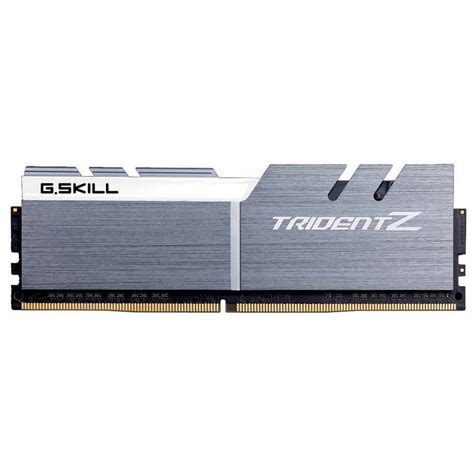 Gskill F4 3200c14d 16gtzsw g skill trident z ddr4 3200 pc4 25600 16gb 2x8gb cl14 blanca gris