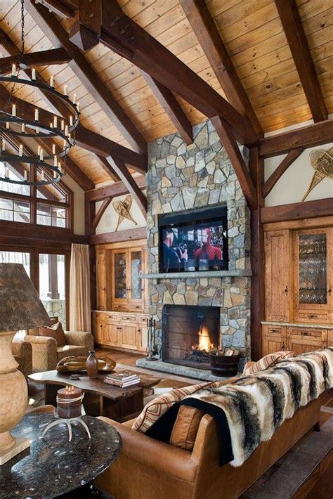 log home interior decorating ideas 1000 images about mountain home decorating on