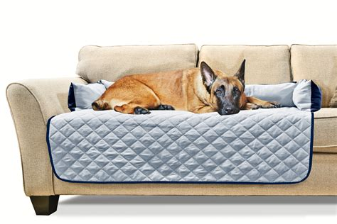 pet sofa bed furhaven sofa buddy pet bed furniture cover ebay
