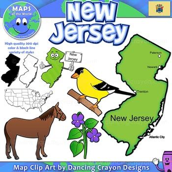 a to z the usa new jersey state flower jersey symbols