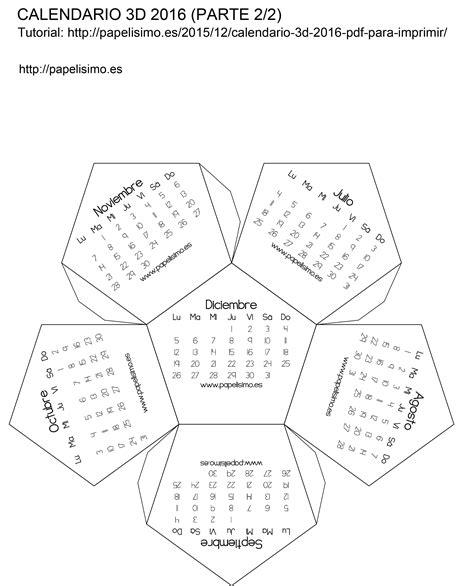Calendario Liga Mx 2017 Pdf Calendario 3d 2016 Pdf Para Imprimir Papelisimo