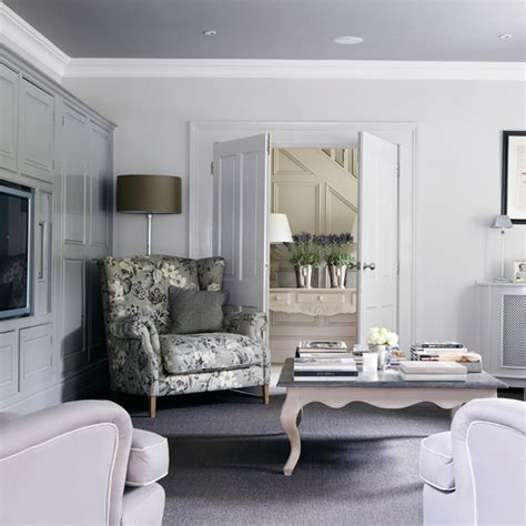 Living Room Ideas Grey And Traditional Grey And Lilac Living Room Living Room