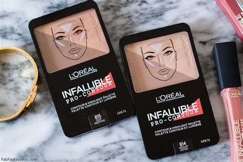 L Oreal Infallible Pro Contour contour highlight with l or 233 al infallible pro