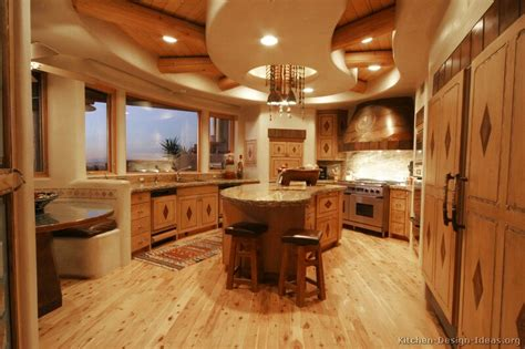 santa fe style kitchen cabinets rustic kitchen designs pictures and inspiration