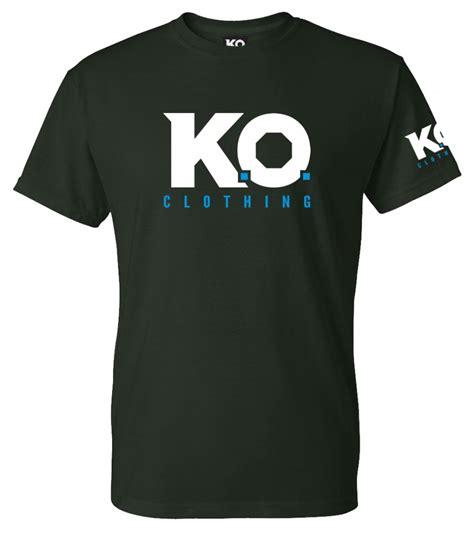 Tshirt K O k o classic t shirt army green k o clothing