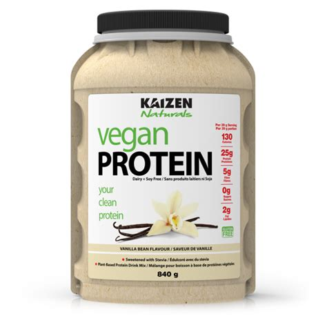 canadian protein canadas supplements superstore buy kaizen vegan protein all natural plant based protein