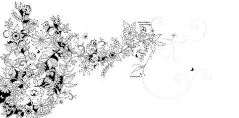 secret garden coloring book south africa secret garden an inky treasure hunt and colouring book