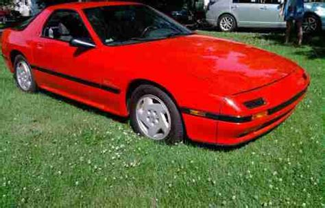repair anti lock braking 1986 mazda rx 7 lane departure warning sell used 1986 mazda rx7 gxl red 12 543 00 original miles must see pictures in indianapolis