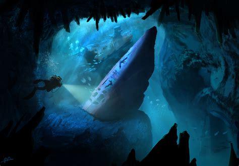 sunken u boat underwater environment sunken u boat by h3kate on deviantart