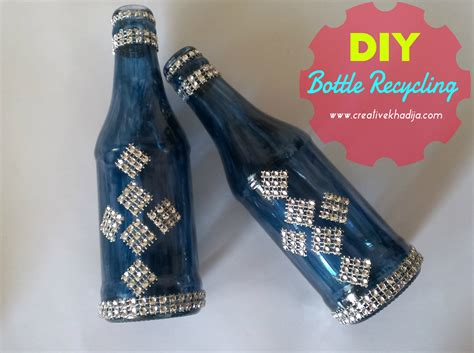 Diy Home Decorating Ideas by Diy Glass Painted Bottles Decoration Recycling Ideas