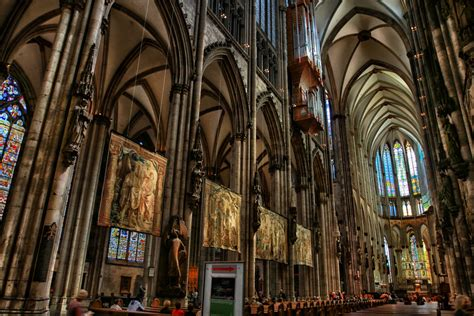 interior pictures cologne cathedral still stands proudly on the bombing of