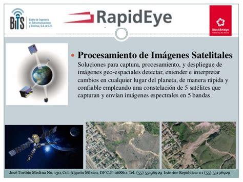 imagenes satelitales concepto soluciones geoespaciales