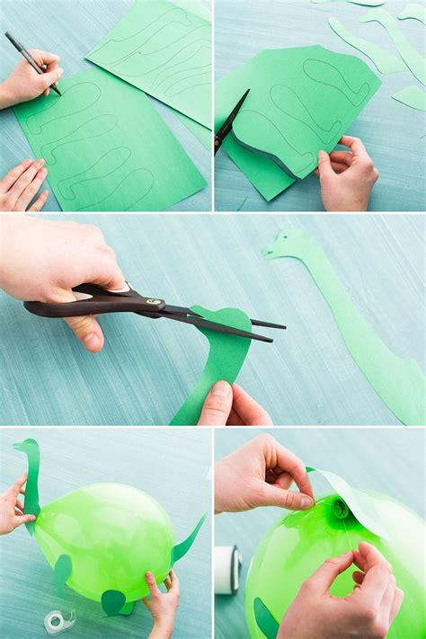 How To Make Dinosaurs Out Of Paper - how to make your child a dinosaur themed birthday