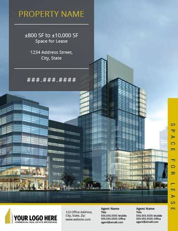 Commercial Real Estate Brochure Flyer Design Designs That Sell Commercial Property Brochure Template