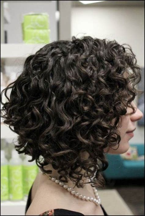 angled bob for curly hair get an inverted bob haircut for curly hair