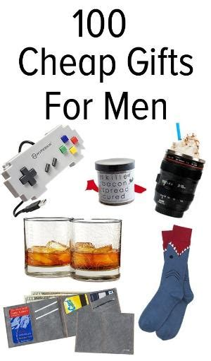 over 100 cheap small gift ideas for men