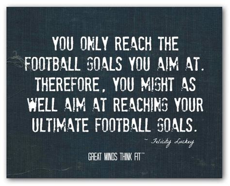 Poster Quote 018 inspirational football quotes for sports motivation