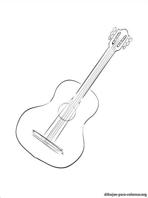 imagenes de guitarras a blanco y negro dibujo de guitarra para colorear dibujos para colorear