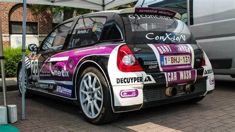 renault clio v6 rally car rally renault clio v6