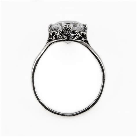 ov009bbr antique filigree ring for a 1 15ct to 1 25ct