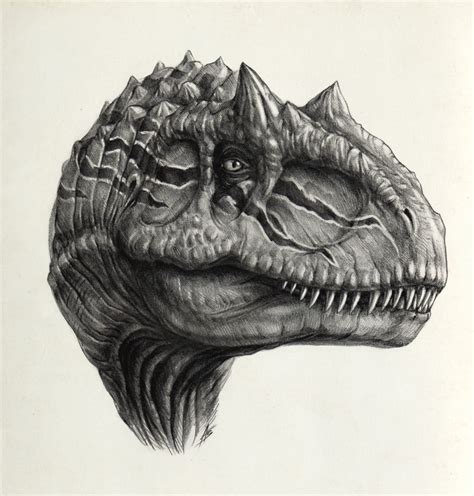 allosaurus by antarcticspring on deviantart