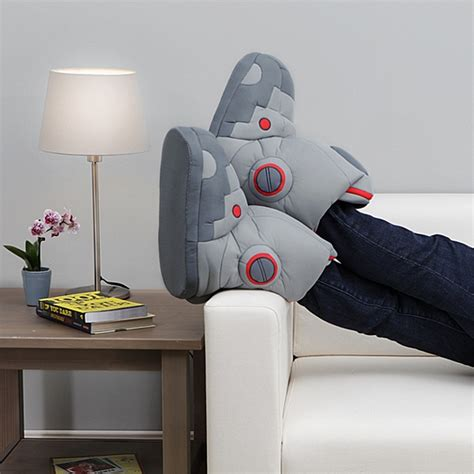 robot slippers with sound robot sound slippers