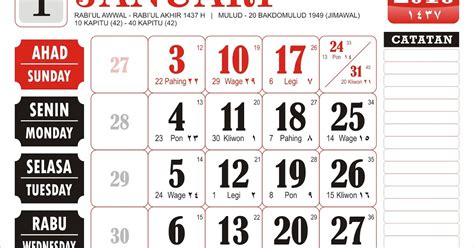 desain corel kalender 2016 desain kalender 2016 vector cdr lengkap kalender 2016