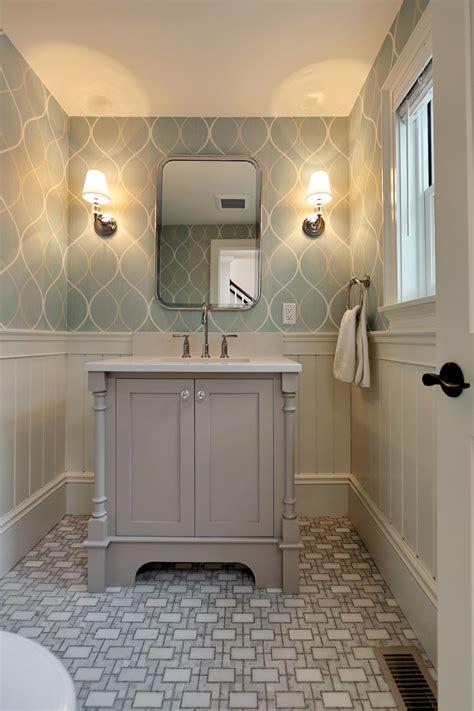 wallpaper designs for bathrooms massachusetts remodeling ideas encore construction