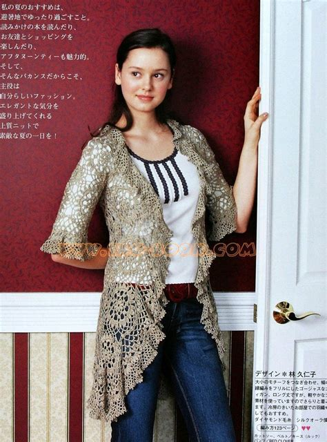 tapado tejido a crochet para mujer tapado de verano divino tapado con uni 243 n de motivos mi rincon de crochet