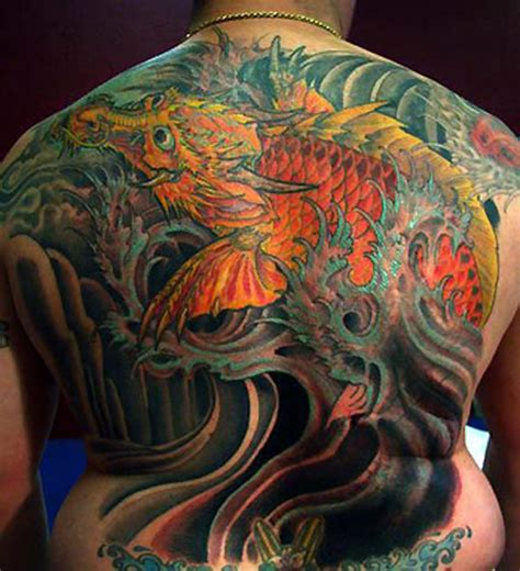 tattoo dragon fish 100 s of dragon fish tattoo design ideas pictures gallery